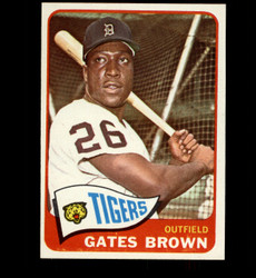 1965 GATES BROWN TOPPS #19 TIGERS EXMT/NM *5803