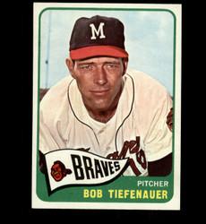 1965 BOB TIEFENAUER TOPPS #23 BRAVES NM *4940