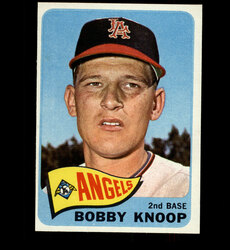 1965 BOBBY KNOOP TOPPS #26 ANGELS NM *6950