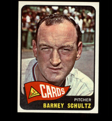 1965 BARNEY SCHULTS TOPPS #28 CARDINALS NM *5412