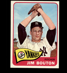 1965 JIM BOUTON TOPPS #30 YANKEES NM *2120