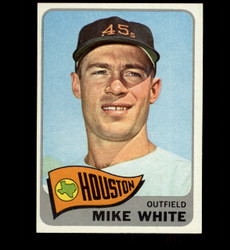 1965 MIKE WHITE TOPPS #31 HOUSTON NM/MT *7624