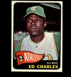 1965 ED CHARLES TOPPS #35 ATHLETICS NM/MT *7287