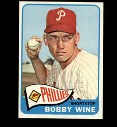 1965 BOBBY WINE TOPPS #36 PHILLIES NM/MT *7312