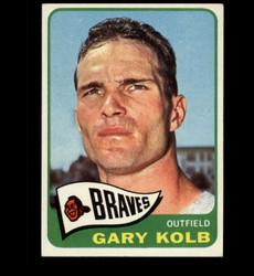 1965 GARY KOLB TOPPS #287 BRAVES EXMT *4210