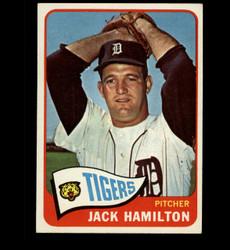 1965 JACK HAMILTON TOPPS #288 TIGERS EXMT *2954