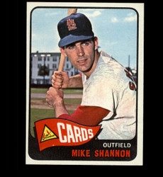 1965 MIKE SHANNON TOPPS #43 CARDINALS NM/MT *4573