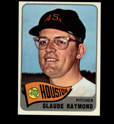 1965 CLAUDE RAYMOND TOPPS #48 HOUSTON NM/MT *4490