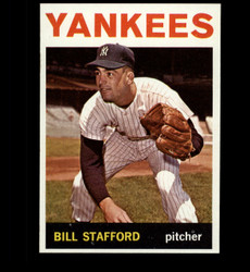 1964 BILL STAFFORD TOPPS #299 YANKEES EXMT *1790