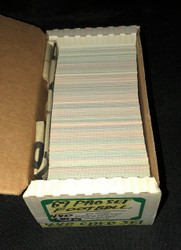 1989 PRO SET FOOTBALL SERIES 1 COMPLETE SET NFL 440/440