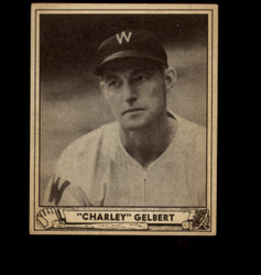 1940 CHARLEY GELBERT PLAY BALL #18 SENATORS VG-VGEX *2198
