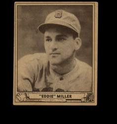 1940 EDDIE MILLER PLAY BALL #56 BOSTON VG/EX *1722