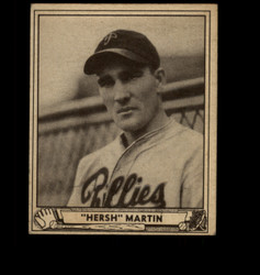 1940 HERSH MARTIN PLAY BALL #100 PHILLIES EX *1612