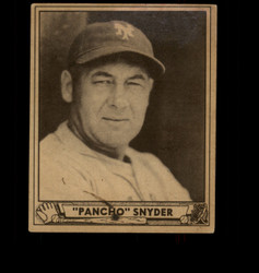 1940 PANCHO SNYDER PLAY BALL #159 GIANTS VG *8028