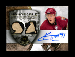 2009 KYLE TURRIS UD THE CUP 52/91 HONORABLE NUMBERS GU AUTO *1181