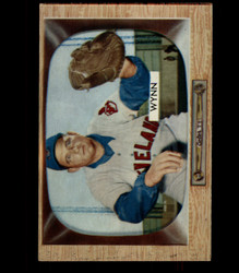 1955 EARLY WYNN BOWMAN #38 INDIANS EX *3827