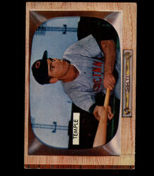 1955 JOHNNY TEMPLE BOWMAN #31 REDLEGS EX *4691