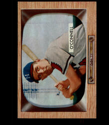 1955 DANNY O CONNELL BOWMAN #44 BRAVES EX/MT *5950