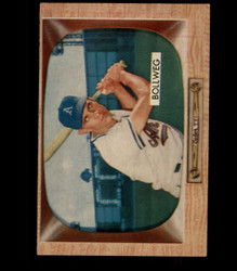 1955 DON BOLLWEG BOWMAN #54 ATHLETICS EX/EXMT *3733