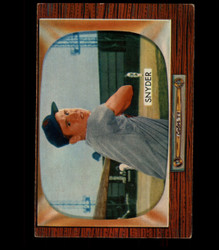 1955 JERRY SNYDER BOWMAN #74 SENATORS EX *8294