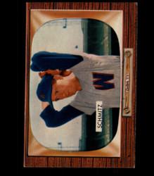 1955 JOHNNY SCHMITZ BOWMAN #105 SENATORS EX *4689