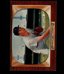 1955 LOU KRETLOW BOWMAN #108 ORIOLES EX/EXMT *7572