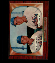 1955 BOBBY AND BILLY SHANTZ BOWMAN #139 ATHLETICS EX *4548