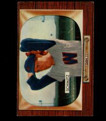 1955 JOHNNY SCHMITZ BOWMAN #105 SENATORS EX *4117