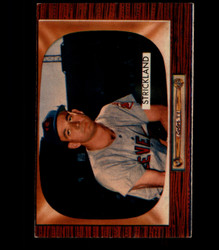 1955 GEORGE STRICKLAND BOWMAN #192 INDIANS EX *4141