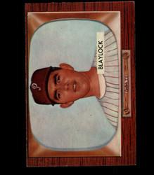 1955 MARU BLAYLOCK BOWMAN #292 PHILLIES EX/MT *4155