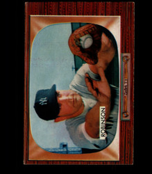 1955 EDDIE ROBINSON BOWMAN #153 YANKEES EX/MT *2284