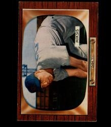 1955 EDDIE MIKSIS BOWMAN #181 CUBS EX/MT *2112
