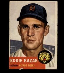 1953 EDDIE KAZAK TOPPS #194 TIGERS VG *7704