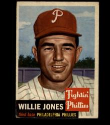 1953 WILLIE JONES TOPPS #88 PHILLIES VG *1497