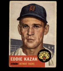 1953 EDDIE KAZAK TOPPS #194 TIGERS VG *5359