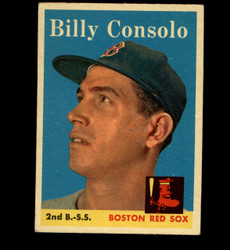 1958 BILLY CONSOLO TOPPS #148 RED SOX EX *5744