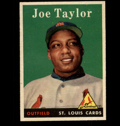 1958 JOE TAYLOR TOPPS #451 CARDINALS EX/MT *2597