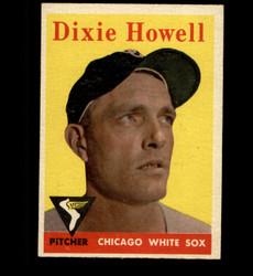 1958 DIXIE HOWELL TOPPS #421 WHITE SOX EX *7209