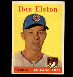 1958 DON ELSTON TOPPS #363 CUBS EX/MT *2228