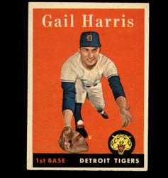 1958 GAIL HARRIS TOPPS #309 TIGERS EX/MT *1927