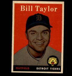 1958 BILL TAYLOR TOPPS #389 TIGERS EX/MT *7213