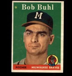1958 BOB BUHL TOPPS #176 BRAVES EX/MT *5246