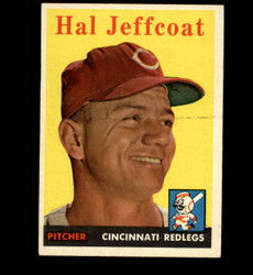 1958 HAL JEFFCOAT TOPPS #294 REDLEGS EX *2369