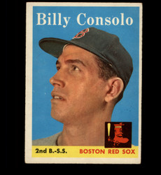 1958 BILLY CONSOLO TOPPS #148 RED SOX EX *4505