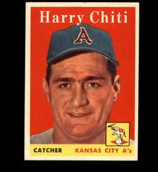 1958 HARRY CHITI TOPPS #119 ATHLETICS EX *3722