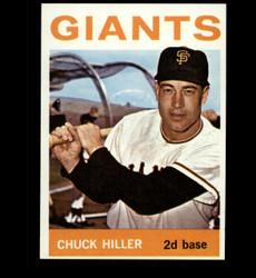 1964 CHUCK HILLER TOPPS #313 GIANTS NM *2998