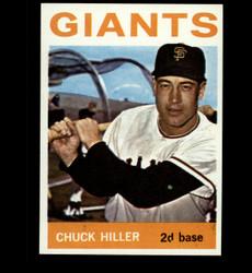 1964 CHUCK HILLERTOPPS #313 GIANTS  NM/MT *1070