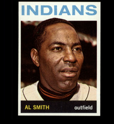 1964 AL SMITH TOPPS #317 INDIANS NM/MT *3924