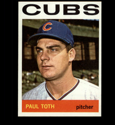 1964 PAUL TOTH TOPPS #309 CUBS NM/MT *6974
