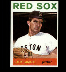 1964 JACK LAMABE TOPPS #305 RED SOX NM/MT *7347